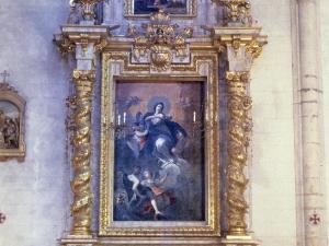 Iglesia parroquial de Nuestra Señora de la Asunción. Retablo de la Inmaculada Concepción
