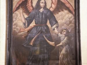 Iglesia parroquial de Nuestra Señora de la Asunción. Pintura. Ángel de la Guarda