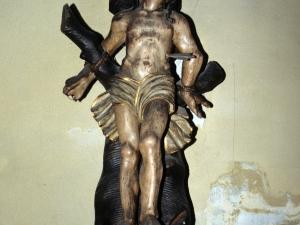 Iglesia parroquial de Nuestra Señora de la Asunción. Escultura. San Sebastián