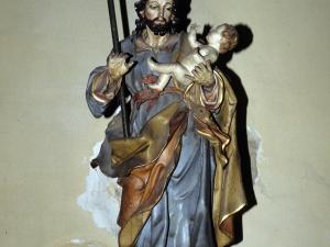 Iglesia parroquial de Nuestra Señora de la Asunción. Escultura. San José