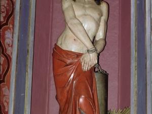 Iglesia parroquial de Nuestra Señora de la Asunción. Escultura. Cristo atado a la columna