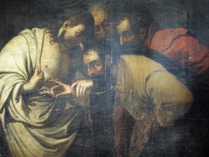 Iglesia parroquial de Nuestra Señora de la Asunción. Pintura. Duda de Santo Tomás