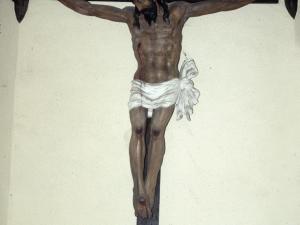 Ermita de Santa Cruz. Pintura. Cristo Crucificado