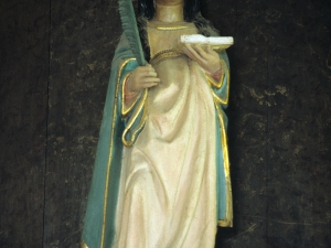 Ermita de Santa Engracia. Escultura. Santa Engracia