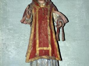 Ermita de San Andrés. Escultura. San Esteban