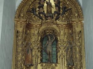 Ermita de San Sebastián. Retablo de San Sebastián