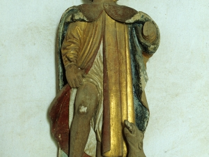 Ermita de San Sebastián. Escultura. San Roque