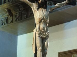 Iglesia parroquial de San Bartolomé. Escultura. Cristo Crucificado