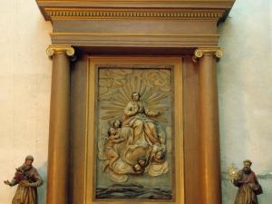 Iglesia parroquial de San Bartolomé. Retablo del Niño Jesús