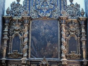 Iglesia parroquial de San Bartolomé. Retablo de las Ánimas