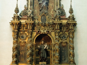 Iglesia parroquial de San Bartolomé. Retablo de San Antonio