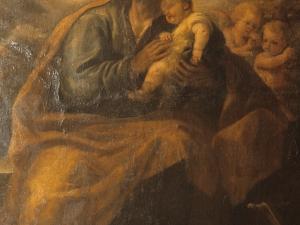 Iglesia parroquial de San Bartolomé. Pintura. San José