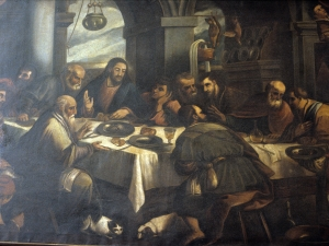 Iglesia parroquial de San Bartolomé. Pintura. Última cena