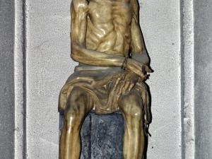 Iglesia parroquial de San Bartolomé. Escultura. Ecce-homo