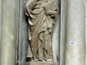 Iglesia parroquial de San Bartolomé. Escultura. San Ignacio de Loyola
