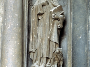 Iglesia parroquial de San Bartolomé. Escultura. San Antón