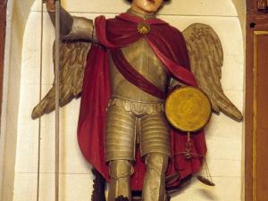 Ermita de San Miguel. Escultura. San Miguel Arcángel