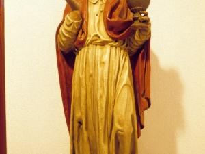 Ermita de San Miguel. Escultura. San Juan Bautista