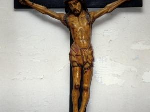 Ermita de San Roque. Escultura. Cristo Crucificado