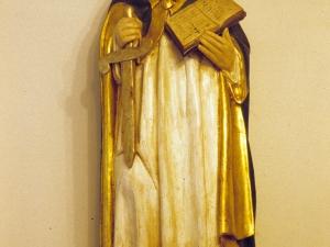 Capilla de San Antolín. Escultura. San Antolín