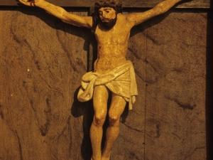 Ermita de San Lorenzo. Escultura. Cristo Crucificado