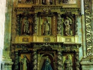 Iglesia parroquial de Nuestra Señora de la Asunción. Retablo de la Virgen del Rosario