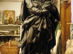 Iglesia parroquial de Nuestra Señora de la Asunción. Escultura. Virgen con niño