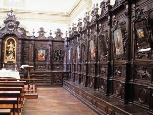 Iglesia parroquial de Nuestra Señora de la Asunción. Cajonería