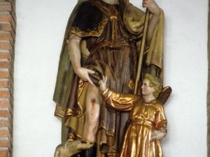 Ermita de San Roque. Escultura. San Roque