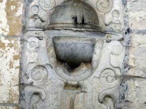 Iglesia parroquial de San Antonio. Aguabenditera