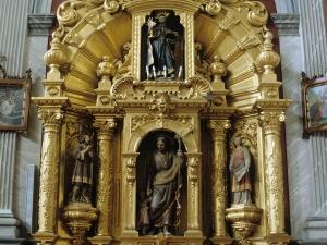 Iglesia parroquial de San Bartolomé de Bidania. Retablo de la Virgen del Rosario