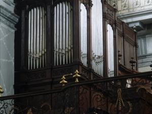 Iglesia parroquial de San Bartolomé de Bidania. Órgano