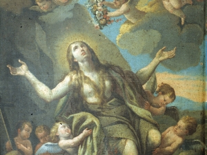 Ermita de San Pedro. Pintura. María Magdalena