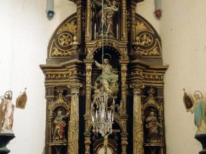 Iglesia parroquial de Nuestra Señora de la Asunción de Goiatz. Retablo de Nuestra Señora de la Asunción