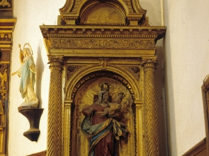 Iglesia parroquial de Nuestra Señora de la Asunción de Goiatz. Retablo de la Virgen del Rosario