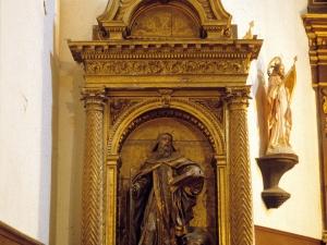 Iglesia parroquial de Nuestra Señora de la Asunción de Goiatz. Retablo de San Antón
