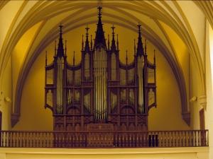 Iglesia parroquial del Sagrado Corazón. Órgano
