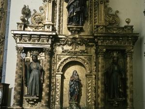 Iglesia parroquial de San Martín de Tours de Amasa. Retablo de la Virgen del Rosario