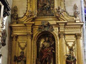 Iglesia parroquial de San Martín de Tours de Amasa. Retablo de San Juan Bautista