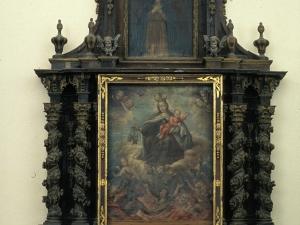Iglesia parroquial de San Martín de Tours de Amasa. Retablo de la Virgen del Carmen