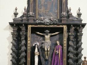 Iglesia parroquial de San Martín de Tours de Amasa. Retablo del Calvario