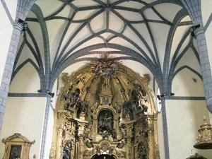 Iglesia parroquial de San Martín de Tours de Amasa. Retablo de San Martín de Tours