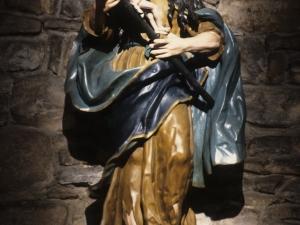 Iglesia parroquial de la Asunción de Nuestra Señora de Azitain. Escultura. María Magdalena