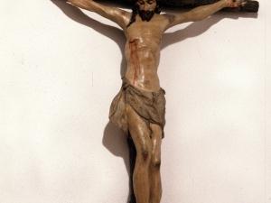 Iglesia parroquial de la Asunción de Nuestra Señora de Azitain. Escultura. Cristo Crucificado