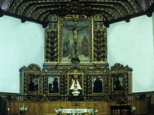 Santuario de Nuestra Señora de Arrate. Retablo de Andra Mari de Arrate