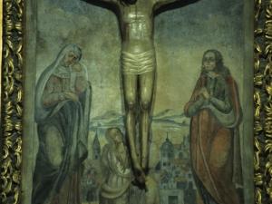 Santuario de Nuestra Señora de Arrate. Escultura. Cristo Crucificado
