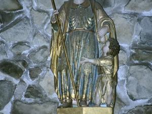 Santuario de Nuestra Señora de Arrate. Escultura. San José
