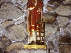 Santuario de Nuestra Señora de Arrate. Escultura. San Lorenzo