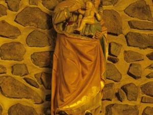 Santuario de Nuestra Señora de Arrate. Escultura. Santa Ana