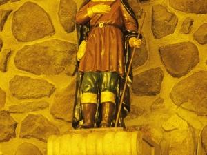 Santuario de Nuestra Señora de Arrate. Escultura. San Isidro